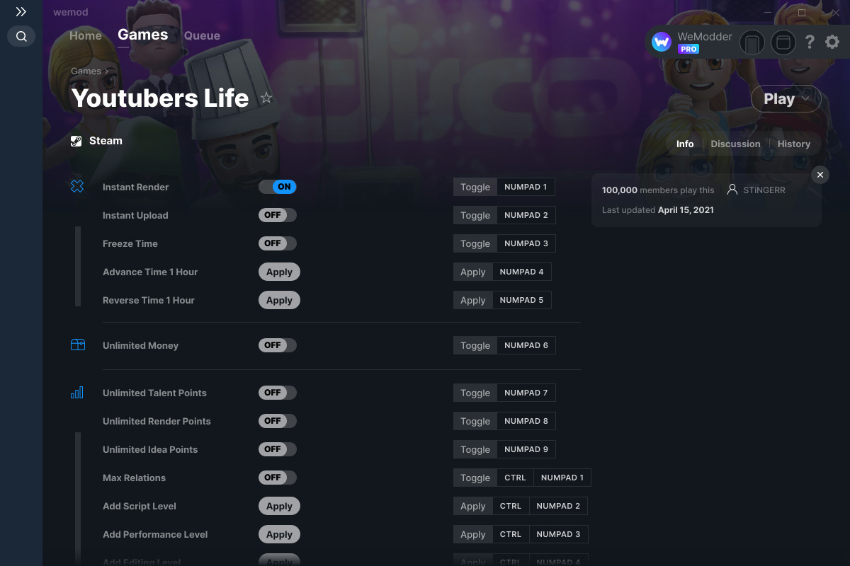 download youtuber life simulator mod apk