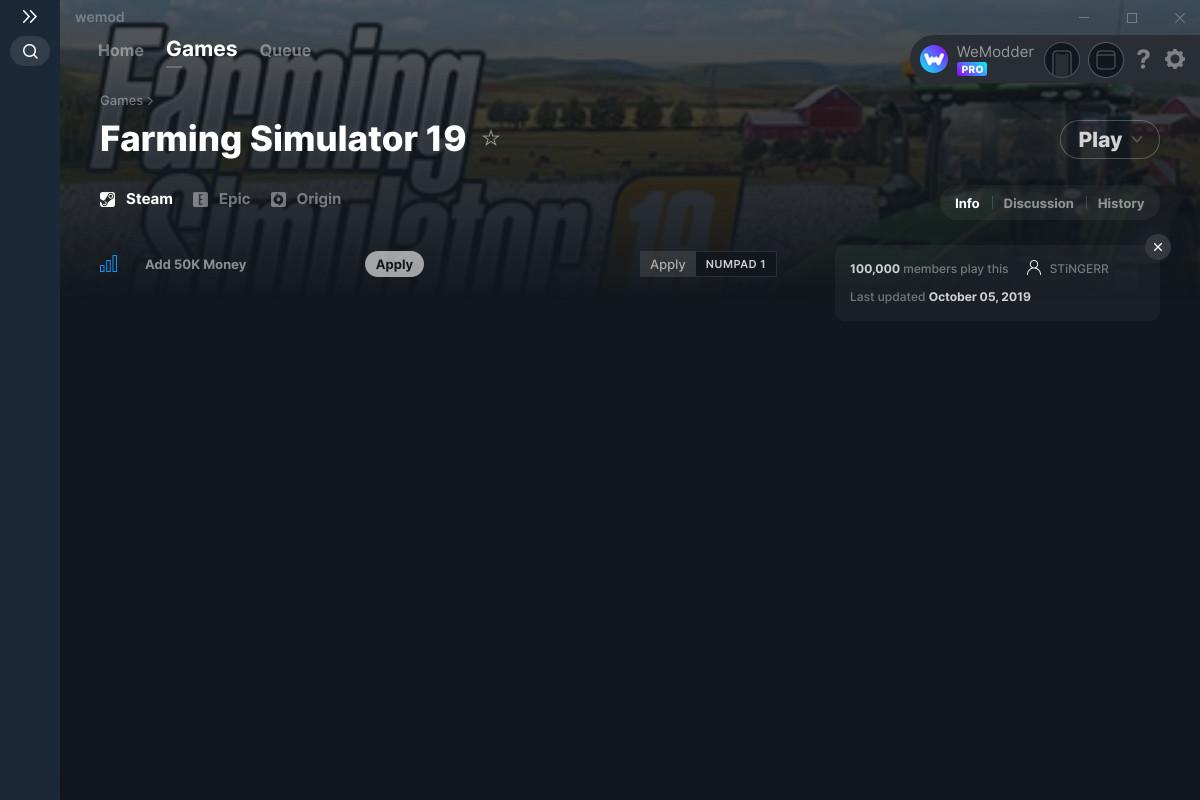 Farming simulator 19 cheats