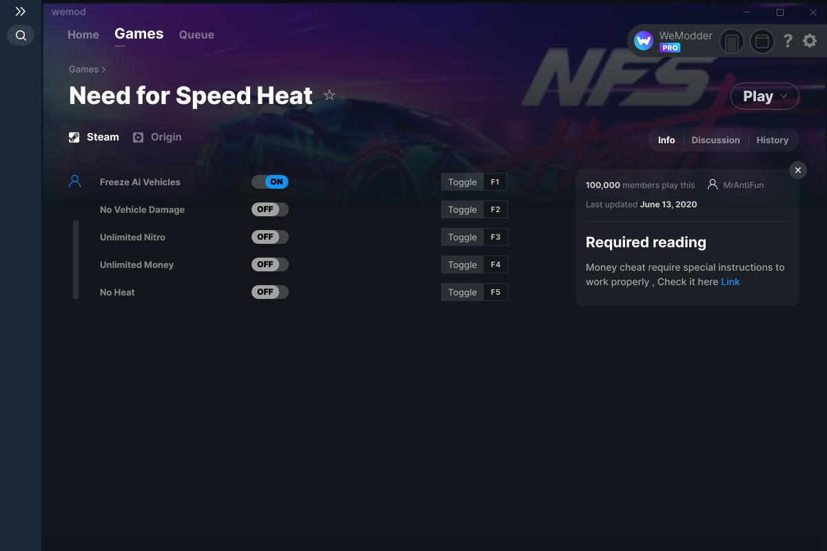 Need For Speed Heat Cheats And Trainers For Pc Wemod